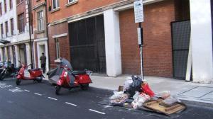 Rubbish in bays 1