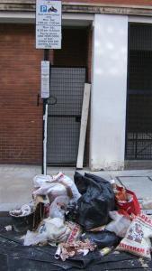 Rubbish in bays 2