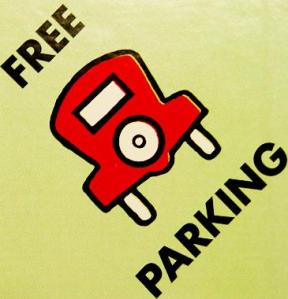 Free parking sign 2