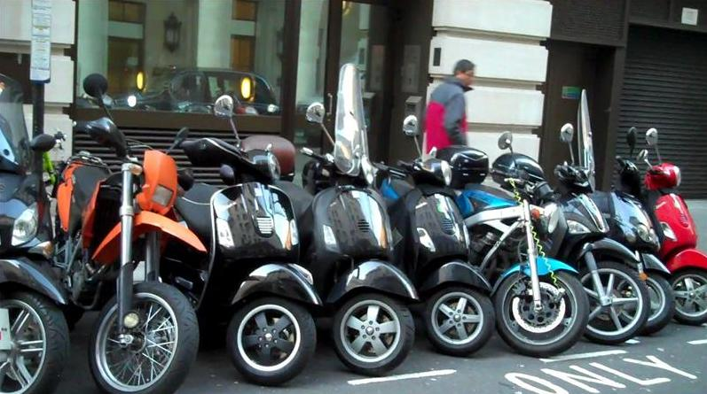 Westminster Motorcycle Parking